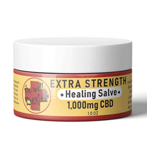 Be Well Dexter - CBD Topical - Extra Strength Healing Salve - 1000mg - The Green Guys - Largest CBD Marketplace