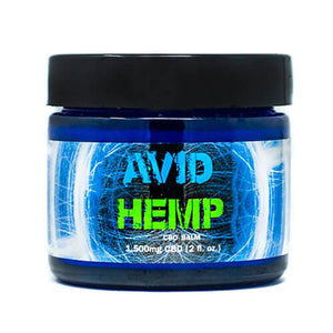 Avid Hemp - CBD Topical - Pain Balm - 750mg-1500mg - The Green Guys - Largest CBD Marketplace