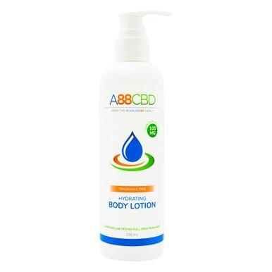 A88 CBD - CBD Topical - Full Spectrum Hydrating Body Lotion - 100mg - The Green Guys - Largest CBD Marketplace