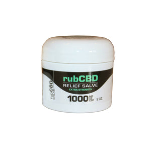 rubCBD Relief Salve Extra Strength - The Green Guys - CBD- ի ամենամեծ շուկան