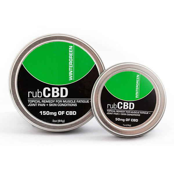 rubCBD Wintergreen - The Green Guys - CBD- ի ամենամեծ շուկան