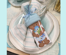 Load image into Gallery viewer, Baby Shower Personalized Favors African American Baby Boy