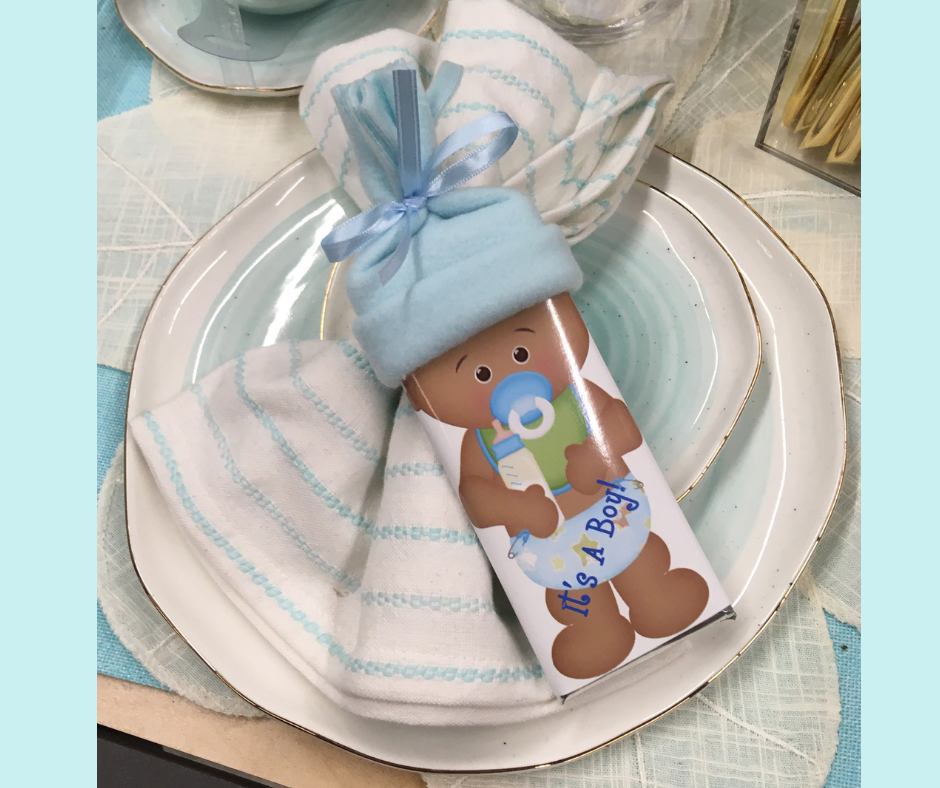 Baby Shower Personalized Favors African American Baby Boy