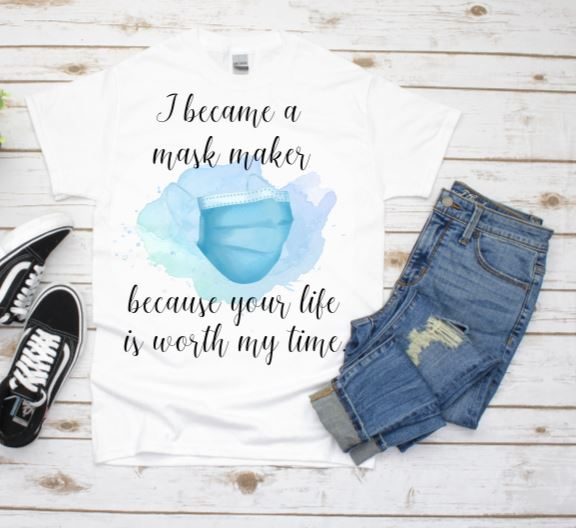 Mask Maker T-shirt