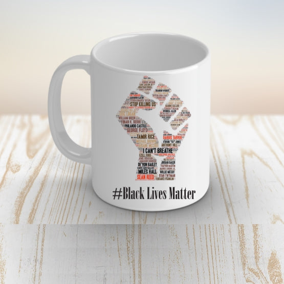 Black Lives Matter Coffee Mug