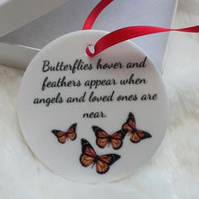 Load image into Gallery viewer, Butterflies Memorial Ornament