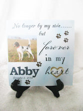 Load image into Gallery viewer, Pet Memorial Gift, Pet Loss Gift, Dog Memorial Plaque, Cat Memorial Plaque, Gift for Her, Gift for Him, Gift for Pet Owner