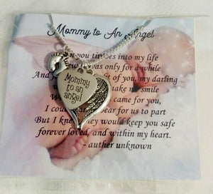 Miscarriage Jewelry Memorial Jewelry  Infant loss miscarriage necklace