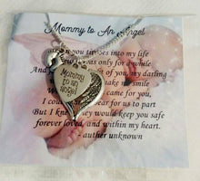 Load image into Gallery viewer, Miscarriage Jewelry Memorial Jewelry  Infant loss miscarriage necklace
