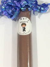 "Load image into Gallery viewer, African American Ring Bearer Gift  Junior Groomsman candy ""cigars"" Ring Bearer Junior Groomsman Ring bearer Gift"