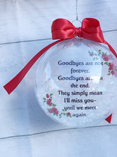 Load image into Gallery viewer, Memorial Ornament, Christmas Ornament, Christmas Gift, Loss of Dad, Loss of Mom, Gift for Women, Gift for Daughter, Gift for Mom