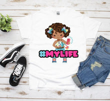 Load image into Gallery viewer, Black Girl Magic, Graphic Tee, Birthday, Granddaughter Gift