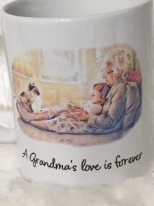 Grandma Gift from Granddaughter, Christmas, Gift For Grandma