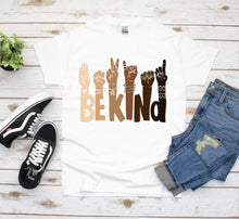 Load image into Gallery viewer, Black Lives Matter Graphic Tee, Equality Shirt, Kindness Shirt, Melanin Shirt