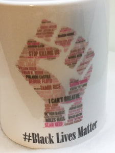 African American, Black Lives Matter Coffee Mug, Equality