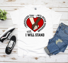 Load image into Gallery viewer, Black Lives Matter Graphic Tee, I stand With You, Equality Shirt