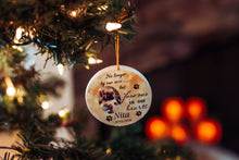 Load image into Gallery viewer, Custom Pet Memorial Ornament, Loss of Pet, Christmas, Gift for Family