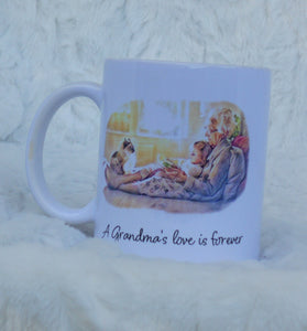 Grandma Coffee Mug, Christmas Gift, Grandma Gift, Gifts for Mom