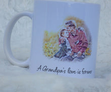 Load image into Gallery viewer, Grandpa Gift from Granddaughter, Coffee Mug, Christmas Gift, Grandpa Gift