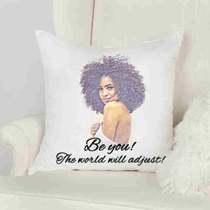 21st Birthday Gift for Her, Throw Pillow, Inspirational Pillow Cover
