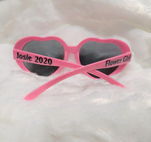 Load image into Gallery viewer, Flower Girl Gifts, Personalized Sunglasses, Wedding, Gift for Flower Girl