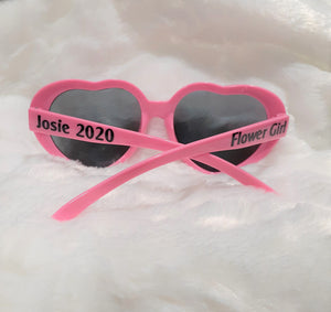 Flower Girl Gifts, Personalized Sunglasses, Wedding, Gift for Flower Girl
