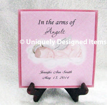Load image into Gallery viewer, Infant & Pregnancy Loss Gifts Miscarriage Memorial Plaque