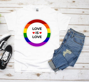 Love Is Love T-shirt LGBT Rights Shirt