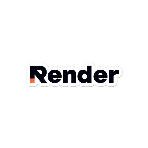Render Stickers