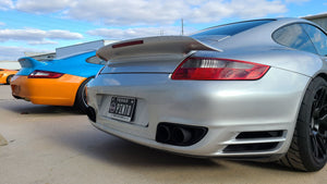 PORSCHE 997.1/997.2 REAR BUMPERETTE DELETE PANEL