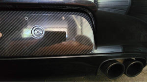 PORSCHE 996.1/996.2 REAR BUMPERETTE DELETE PANEL