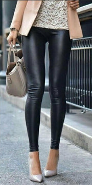 Almost Leather Leggings