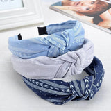Cloth Knot Headbands