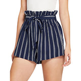 Retro Stripe Shorts