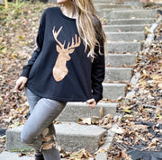 Oh Deer! Cozy Top