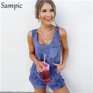 Easy Does It Cotton Romper