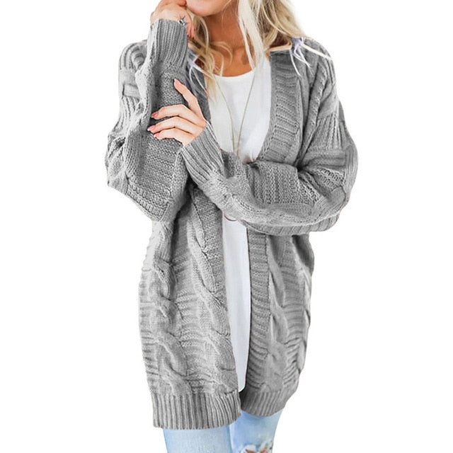 Lets Get Cozy Knitted Cardigan