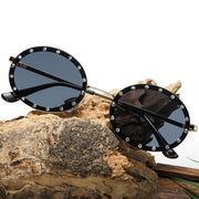 Seeing Diamonds Vintage Metal frame sunglasses