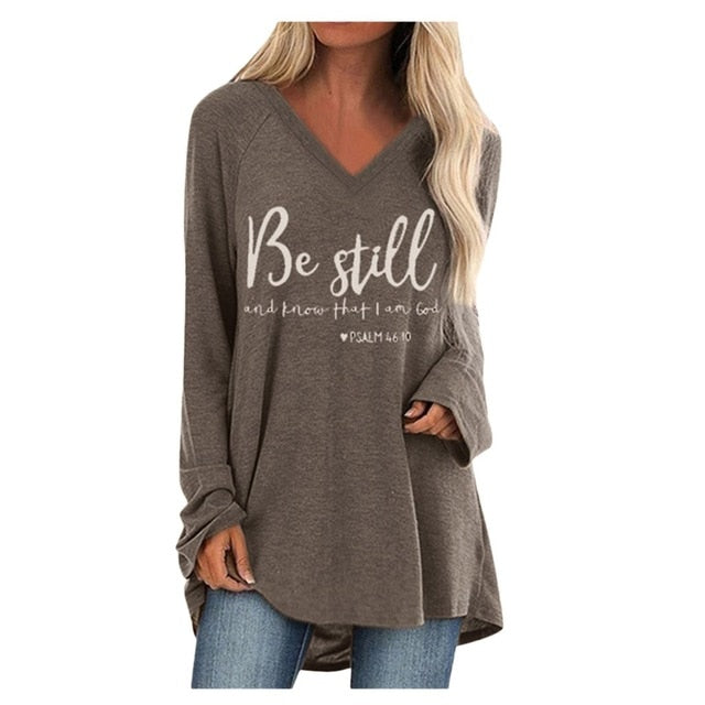 Be Still And Know Tunic
