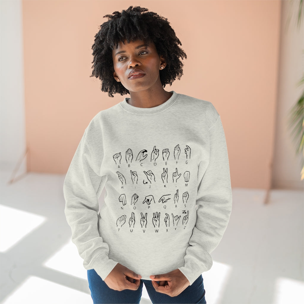 Alphabet Sweatshirt