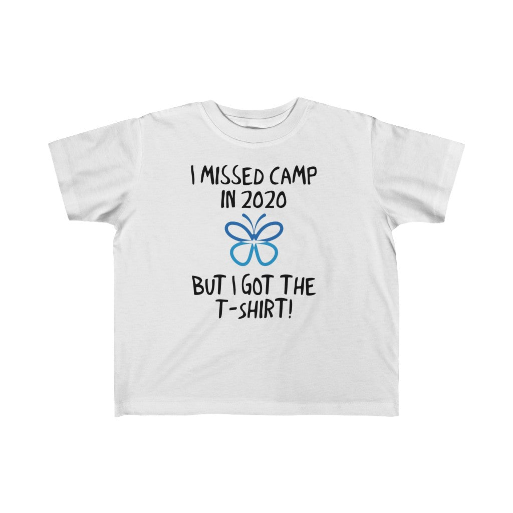 I Miss Camp Toddler Tee