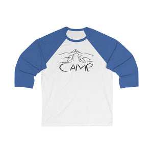 Camp Hands 3/4 Sleeve Baseball Tee