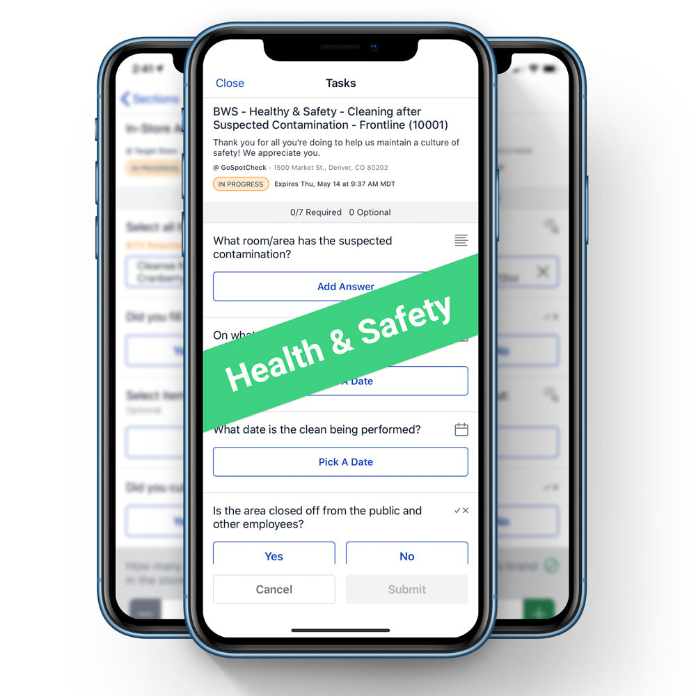 Health & Safety: Team Member Checklist Bundle