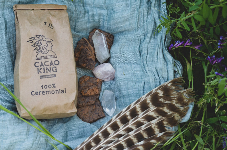 How to Use Crystals with Your Cacao Practice