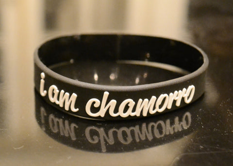 I Am Chamorro Rubber Bracelet