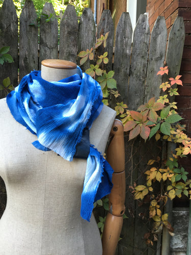 Workshop: Shibori and Indigo Dyeing