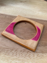 Load image into Gallery viewer, Stuntwood STL Woodworks-Recycled Skateboard Square Bangles
