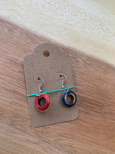 Stuntwood STL Woodworks- Recycled Skateboard Earrings