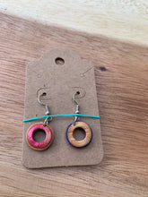 Load image into Gallery viewer, Stuntwood STL Woodworks- Recycled Skateboard Earrings