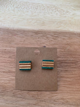 Load image into Gallery viewer, Stuntwood STL Woodworks-Recycled Skateboard Stud Earrings